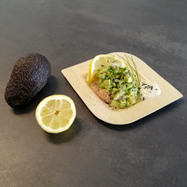 Good vibes: Lachs-Avocado Tartar
