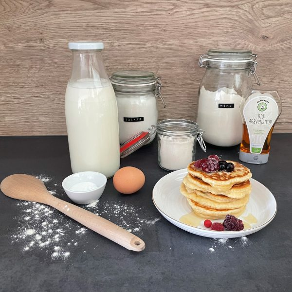 Good vibes: Pancake-Mischung
