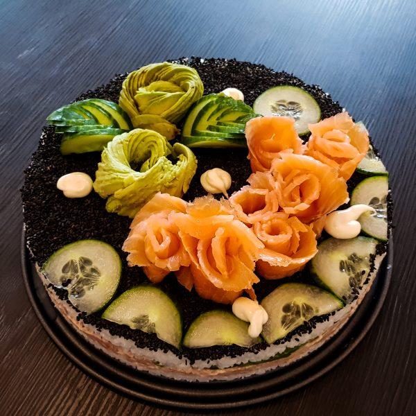 Good vibes: Sushi-Cake